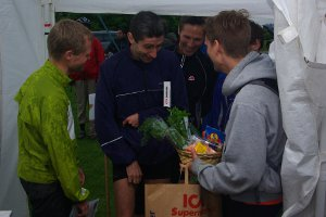 Ekmans löpare i Lund, segrare i lagtävlingen 2011